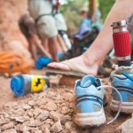 Tools of the Trade: Climbers upgrade their prosthetics as they would mountain bike components. Photo: Caroline Treadway
