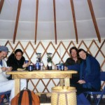 The Yurt High: Time to get slap happy sans TV and iPhone. Photo: Courtesy Southwest Nordic Center