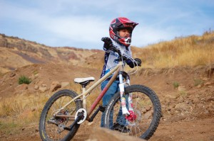 Going Big: Bike parks give kids a chance to hone their skills and catch up to their parents. Photo: Katherine Fuller