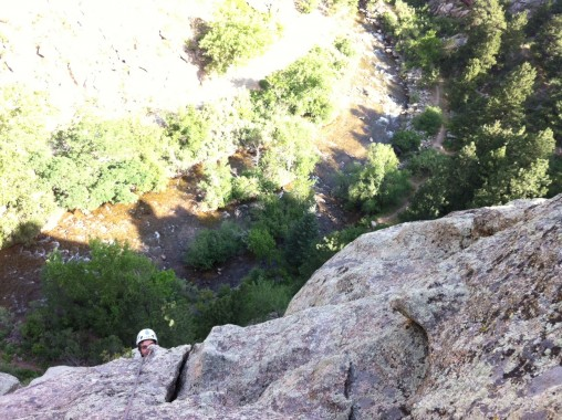 Drew in Canyon
