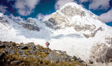 Something to Live For: When Follari found out he was going to be a father, Takeda was ready to call off the return trip to the Andes. But then the two realized they could tell a deeper story through Kickstarter. Photo: Mick Follari/follari.com