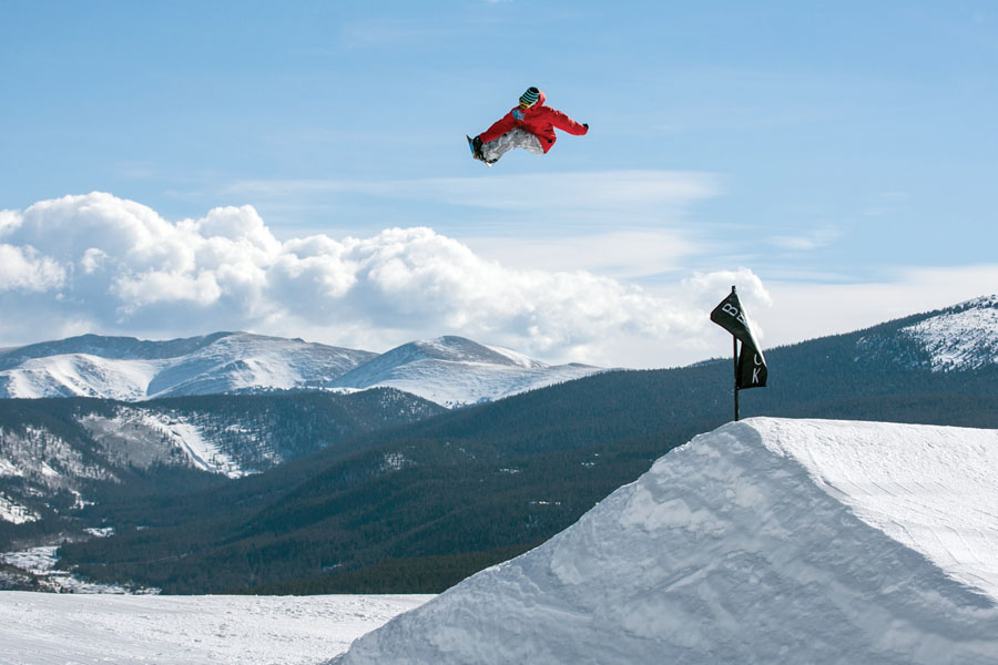 Board Silly: Breck got the readers' nod as best snowboarding mountain, thanks in part to its five terrain parks. Liam Doran/liamdoranphotography.com