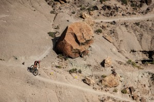 Rock hard: an offshoot of the Whiskey 50, the Grand Junction Off-Road rambles down some of the best desert singletrack on earth.