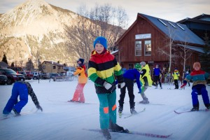 The Crested Butte Nordic Center is a great place for families to go to explore other favorite winter activities. Photo by Xavier Fane.