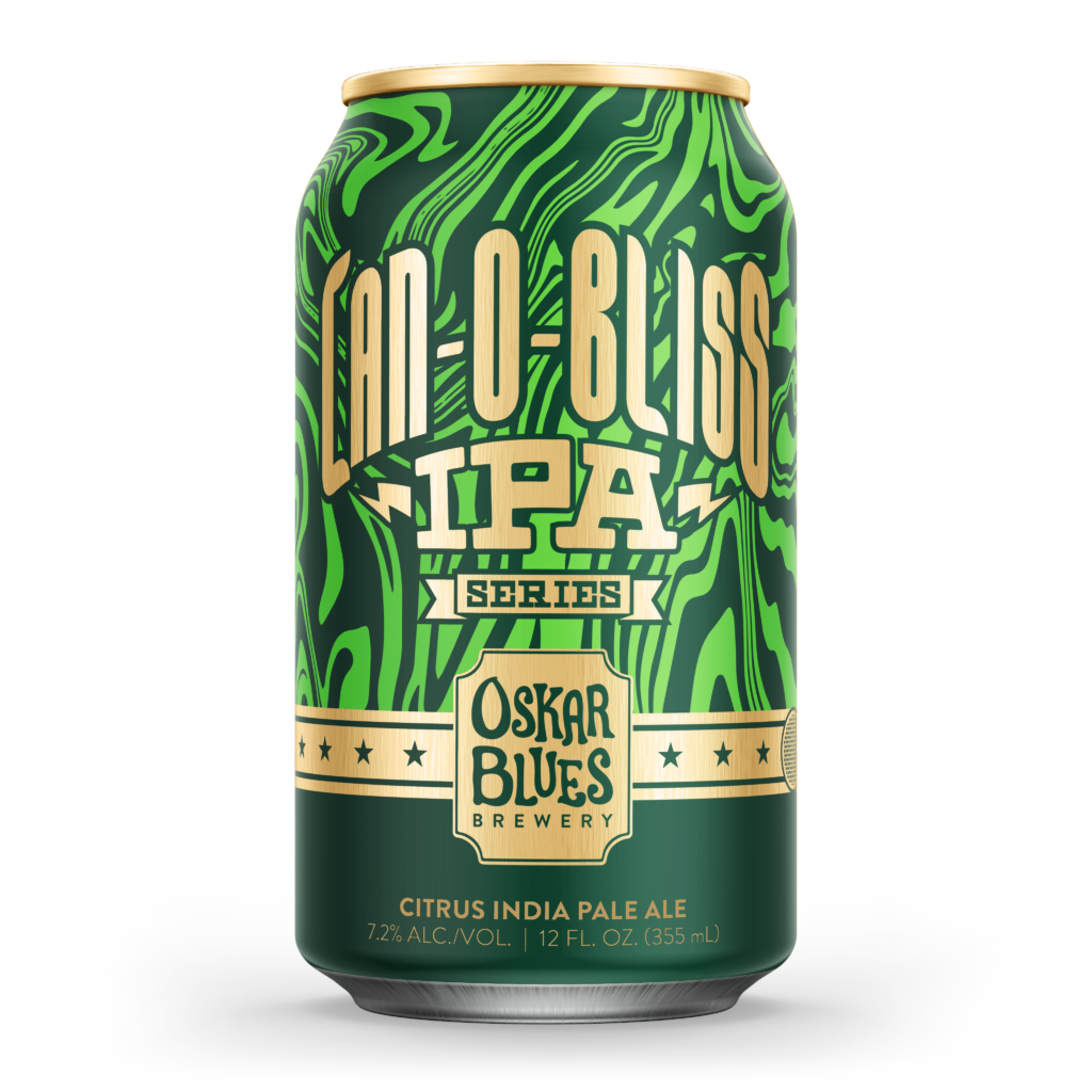 Oskar Blues Can o Bliss IPA